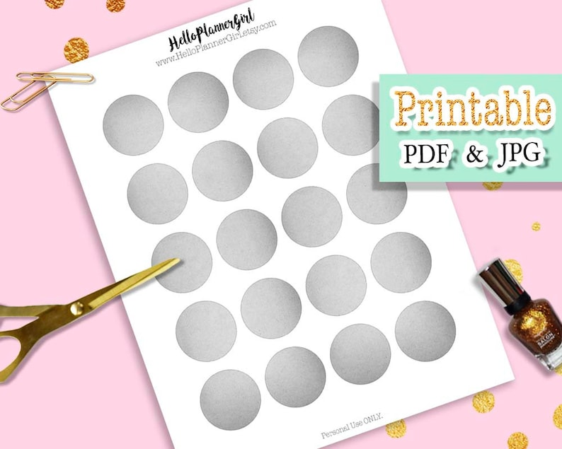 graphic regarding Round Labels Printable known as Black White Typical Paper Circle Labels Printable, 1.5 Outdated Gray Paper Spherical Labels, Craft Stickers for Planners, Sbooking, Composing