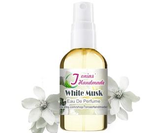 White Musk Type Perfume Spray Soft, Feminine, Powdery, Impression fragrance