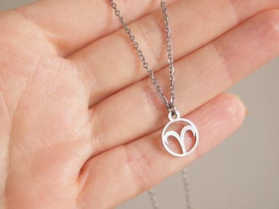 Stainless Steel Zodiac Necklace