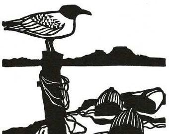 Wildlife Kunst Karten - Seevögel und Küsten - Fundraising - 5pack