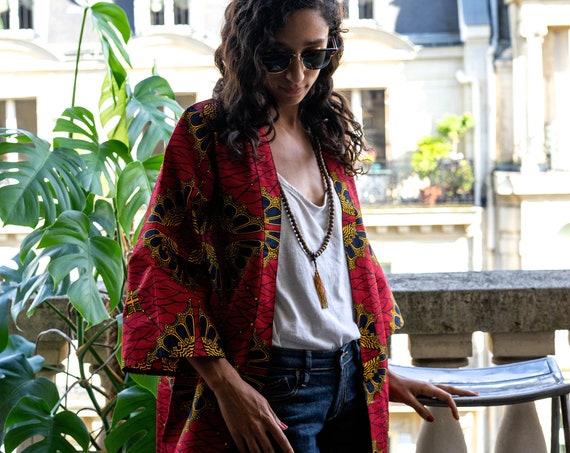 Veste kimono Ombrelles