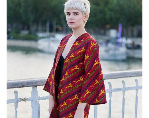 Veste kimono Oiseaux en vol