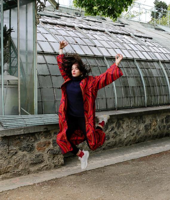 Veste kimono Madame Thérèse oversize