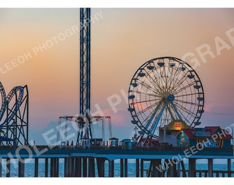 Blue Sunrise at The Pier