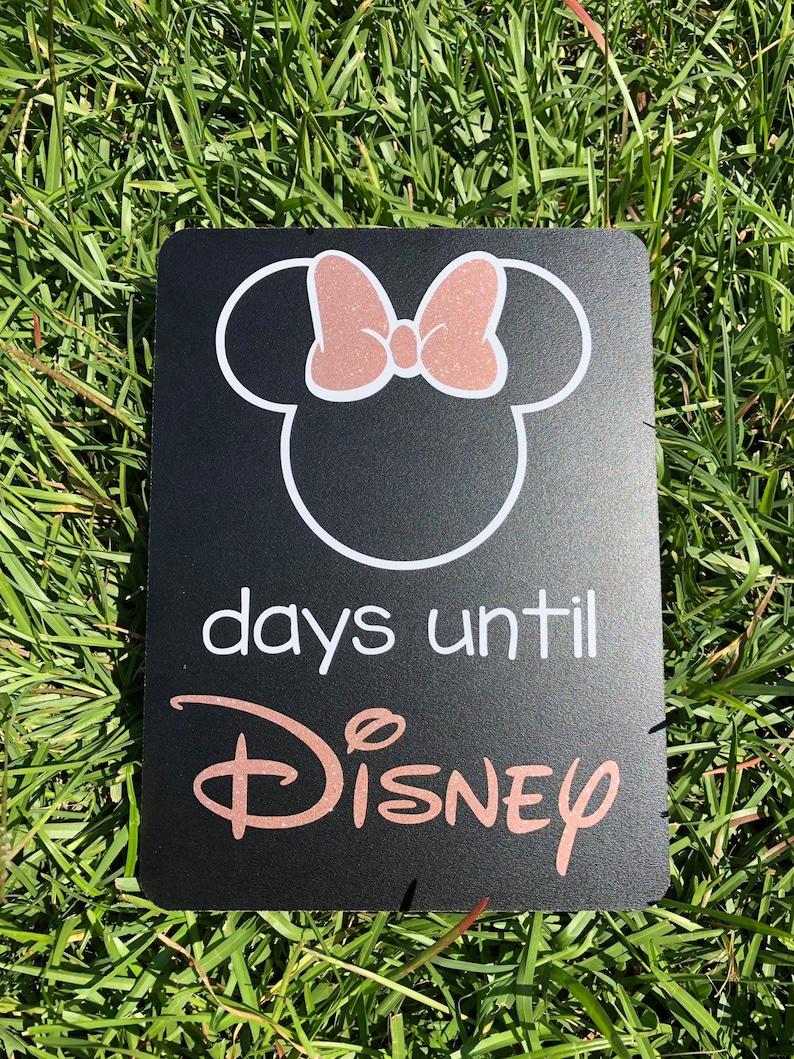 Countdown To Disney Chalkboard Days Until Disney 