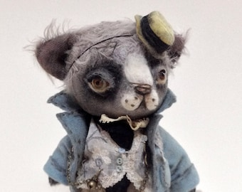 Francis Lloyd, OOAK teddy cat