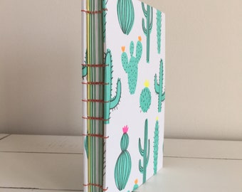 Handmade 4x6 Book - Burnt Cactus