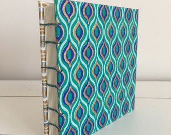 Handmade 4x4 Book - 70's Waves