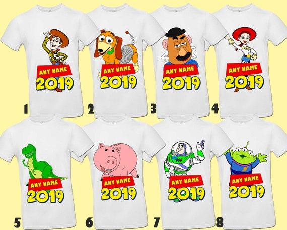gran venta b4fa5 769be Camiseta toy Story, camisetas familiares de Toy Story, camisa personalizada  Sheriff Woody, camisas de fiesta Buzz Lightyear, camisas de cumpleaños de  ...