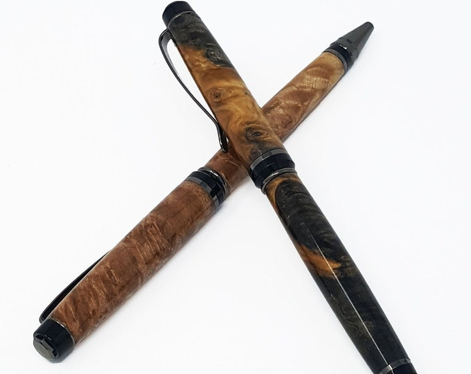 Cigarillo Pen - Burl Wood