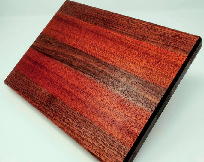 Black walnut sapele cheese board