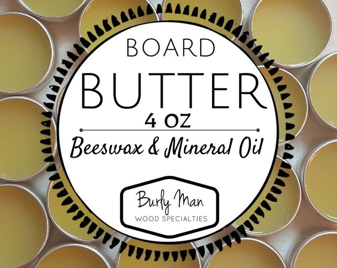 Organic Beeswax & Mineral Oil Board Butter