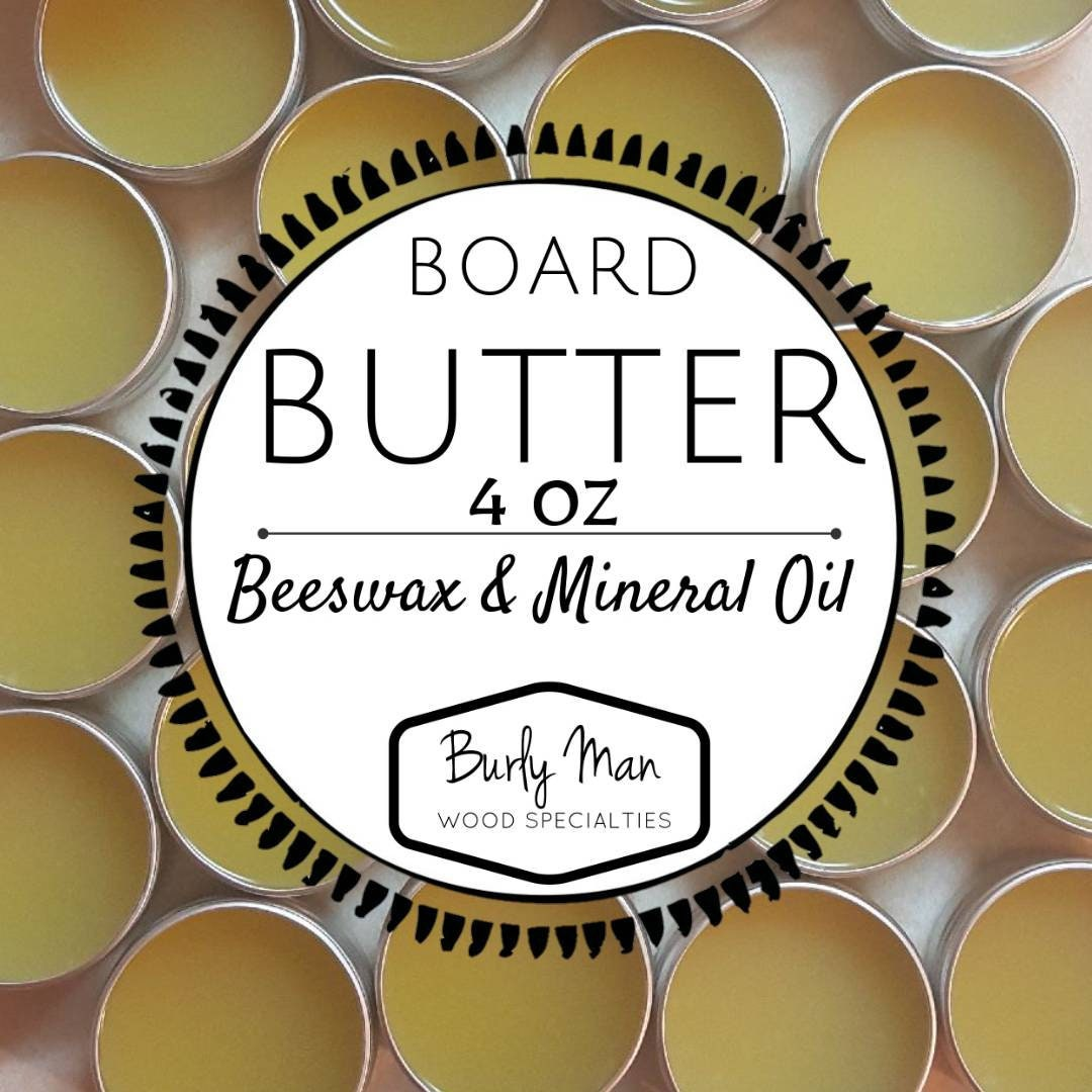 Organic Beeswax Mineral Oil Board Butter