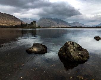 Kilchurn Castle, Scottish Highlands Photography Print