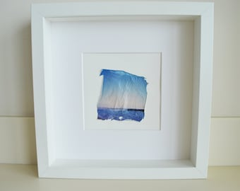 Polaroid Emulsion Lift - Shades Of Blue