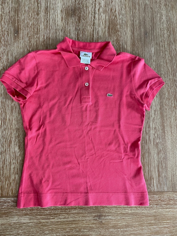 Women's Vintage Lacoste Polo Shirt Late 1990s