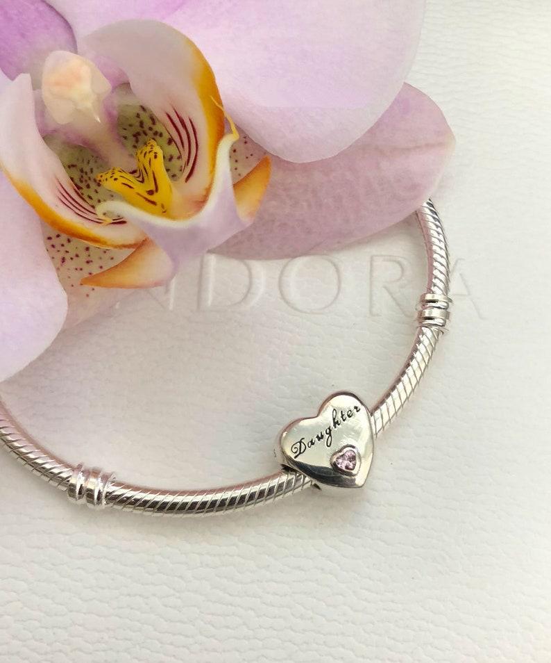 d57136273 Pandora Daughter's Love Daughter Charm Bracelet Bead | Etsy