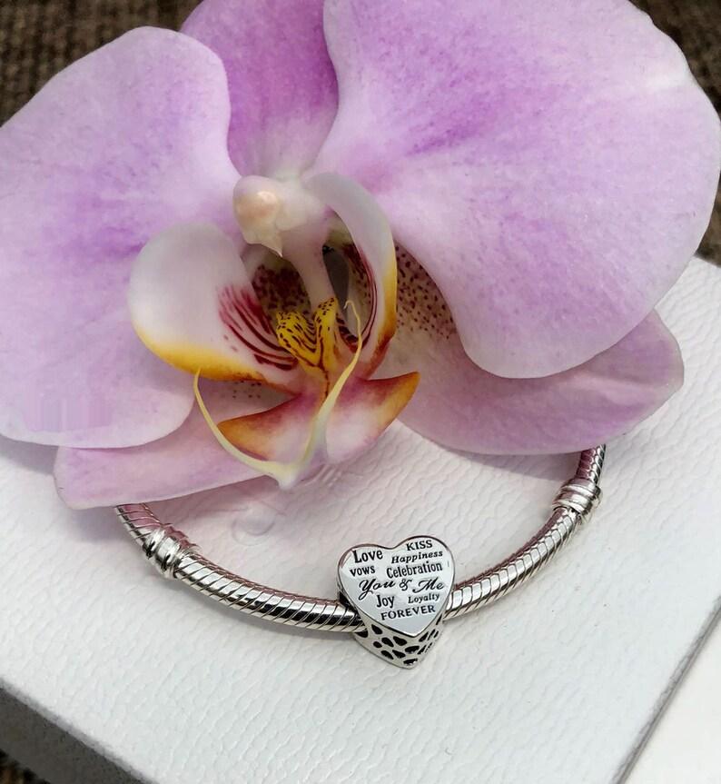a36fb56d8 Pandora Celebration Heart Charm Bracelet Bead Sterling | Etsy