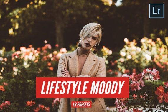 Lifestyle Stimmungsvoller Film Look Lightroom Preset Pack Etsy