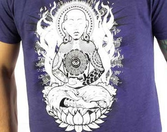 Yoga Tattoo Lotus Evil Eye Buddha Festival Shirt