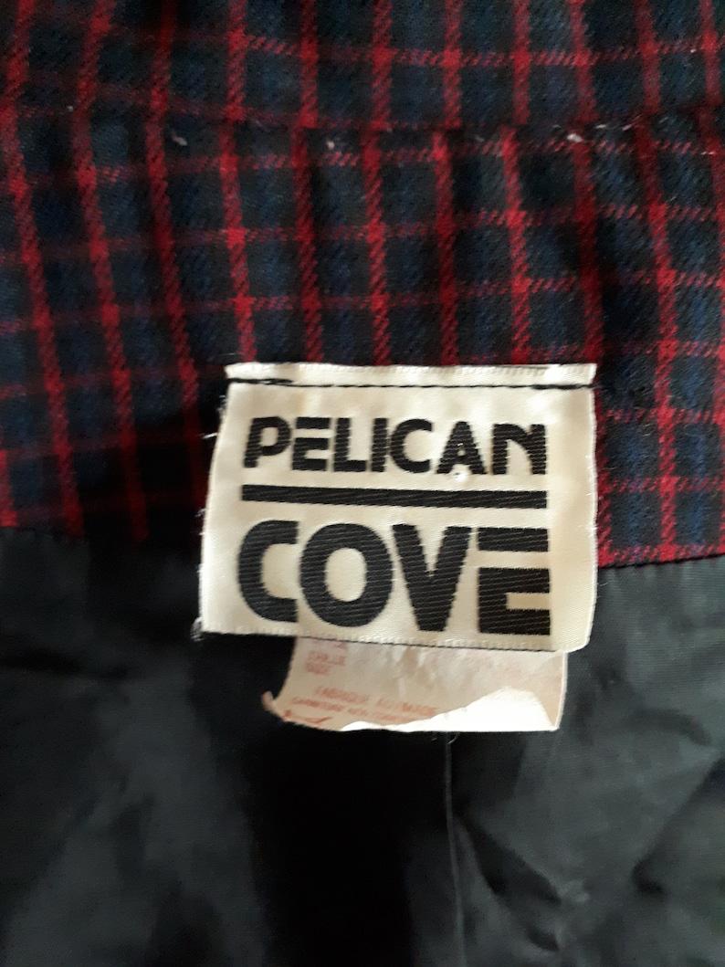 Vintage 1980s Pelican Cove Plaid Blazer Size XL