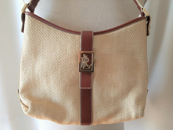 Vintage 1990s Ralph Lauren Handbag