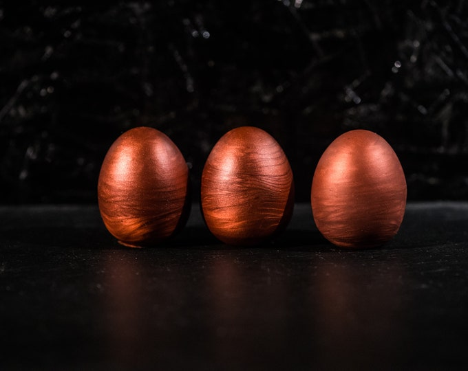 Silicone Eggs Set of 3 Hardness Soft