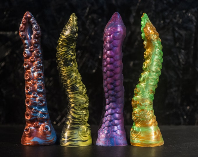 Custom Silicone Dildo Tentacle 19 cm Length