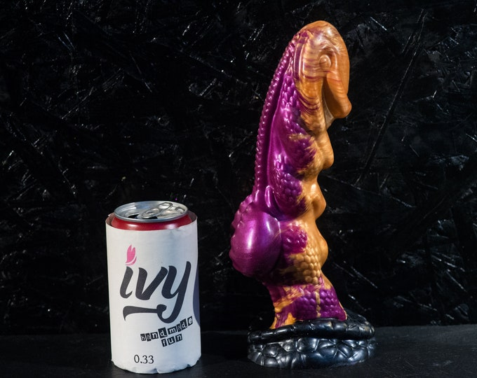 Custom Dildo Silicone Lizard XL 26 cm length 6 cm diameter