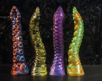 Custom Silicone Dildo Tentacle 19 cm Length