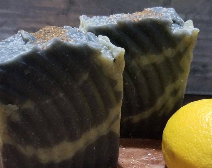 Charcoal and Nettle - Lemon and Mango Scents  oh so soothing for skin