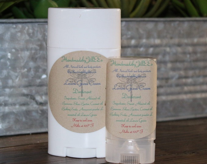 Non-Toxic Deodorant  and All Natural Ingredients