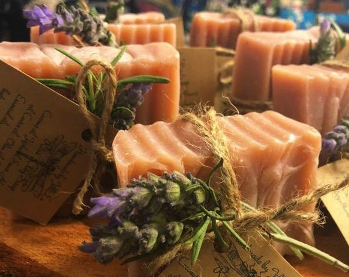 Rose Clay Soap Just in time for Spring
