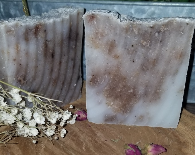 Sandalwood & Tobacco Vanilla Lathery soap for all over