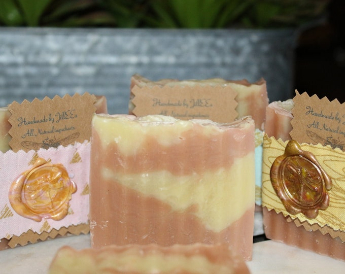 Gentle Exfoliant Rose Clay Lavender and Chamomile Soap