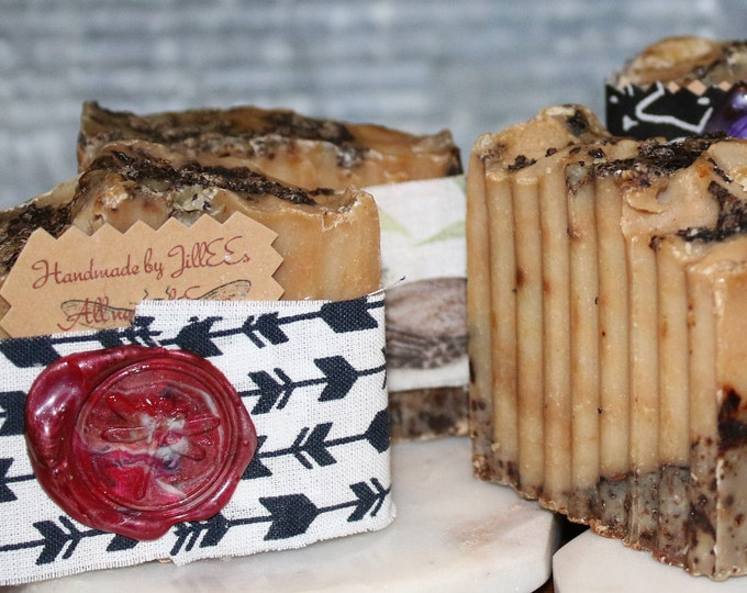 Skin Circulation and Antioxidant Coffee  soap