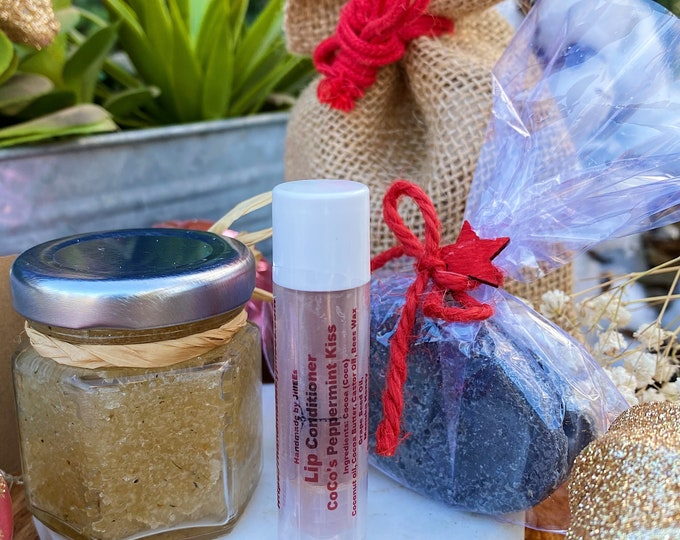Christmas stocking with Natural goodies