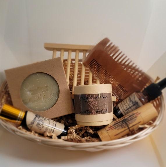 Men's skin care gift basket