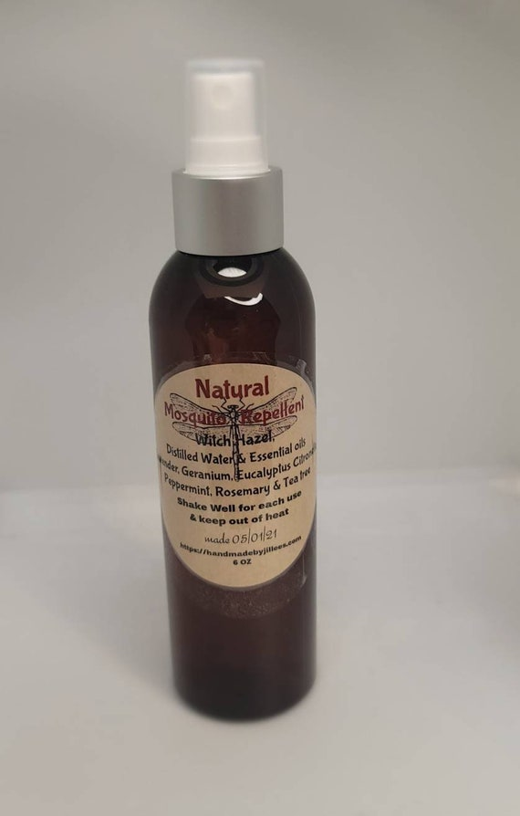 Mosquito Repellent- Natural, Non toxic, great scent, body spray with  essential oils  and witch hazel Non toxic bottle.