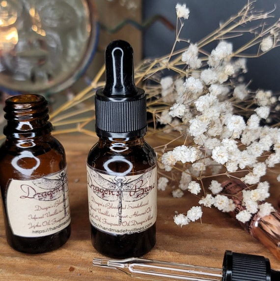 Dragon's Bane Beard Oil Infused with Vanilla & Dragon's Blood Fragrance
