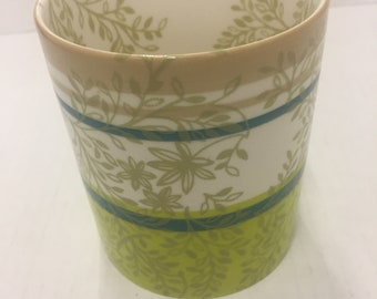 2008 Starbucks flower mug