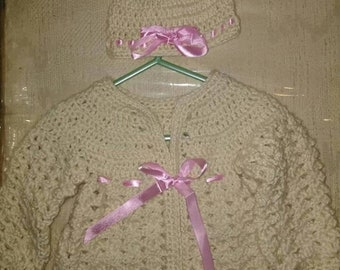 Crochet Baby Sweater Etsy