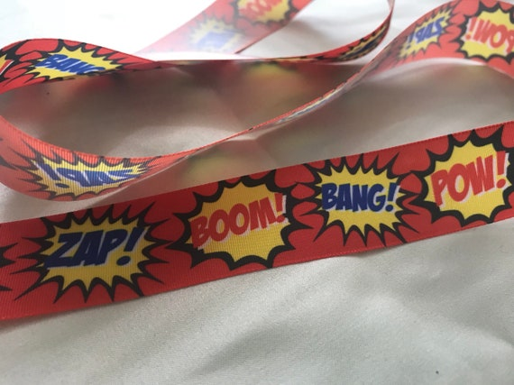 Supergirl  Ribbon 1/' wide 1m long