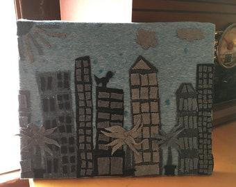 Denim City Skyline