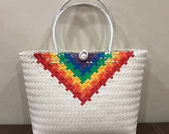 Rainbow Hand-woven Bags