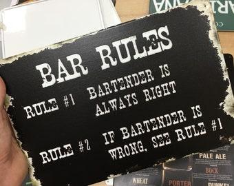 Funny Bar Signs Etsy