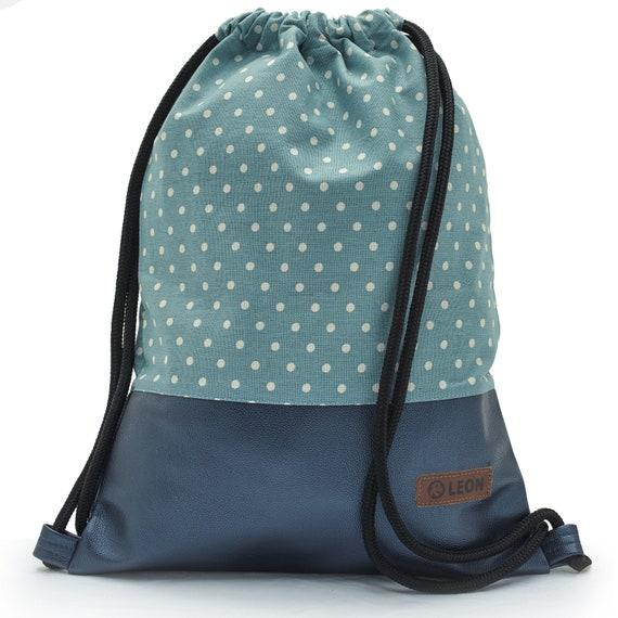 LEON by Bers bag gym bag backpack sports bag cotton gym bag