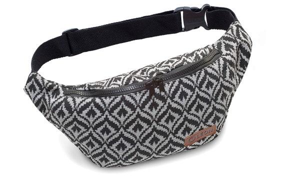 Leon belt bag belly bag hip bag 100% cotton fanny pack hip bag shoulder bag bumbag lotus design