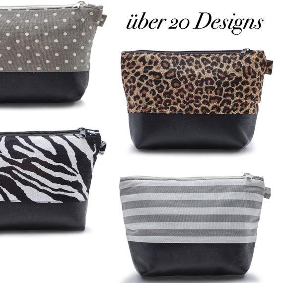 LEON by Bers Cosmetic Bag MIX & modern Design Makeup Bag Cotton Makeup Bag