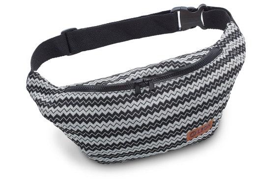 Leon Belt Bag Belly Bag Waist Bag 100% Cotton Fanny pack Hip Bag Shoulder Bag Bumbag zikzakSW Design